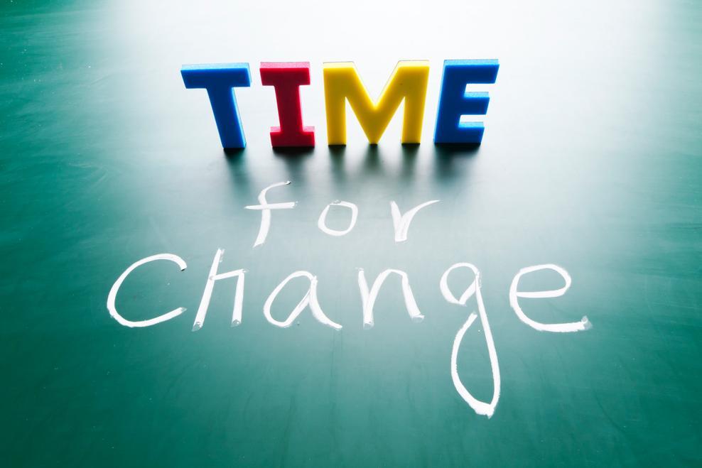 Čas na změnu!