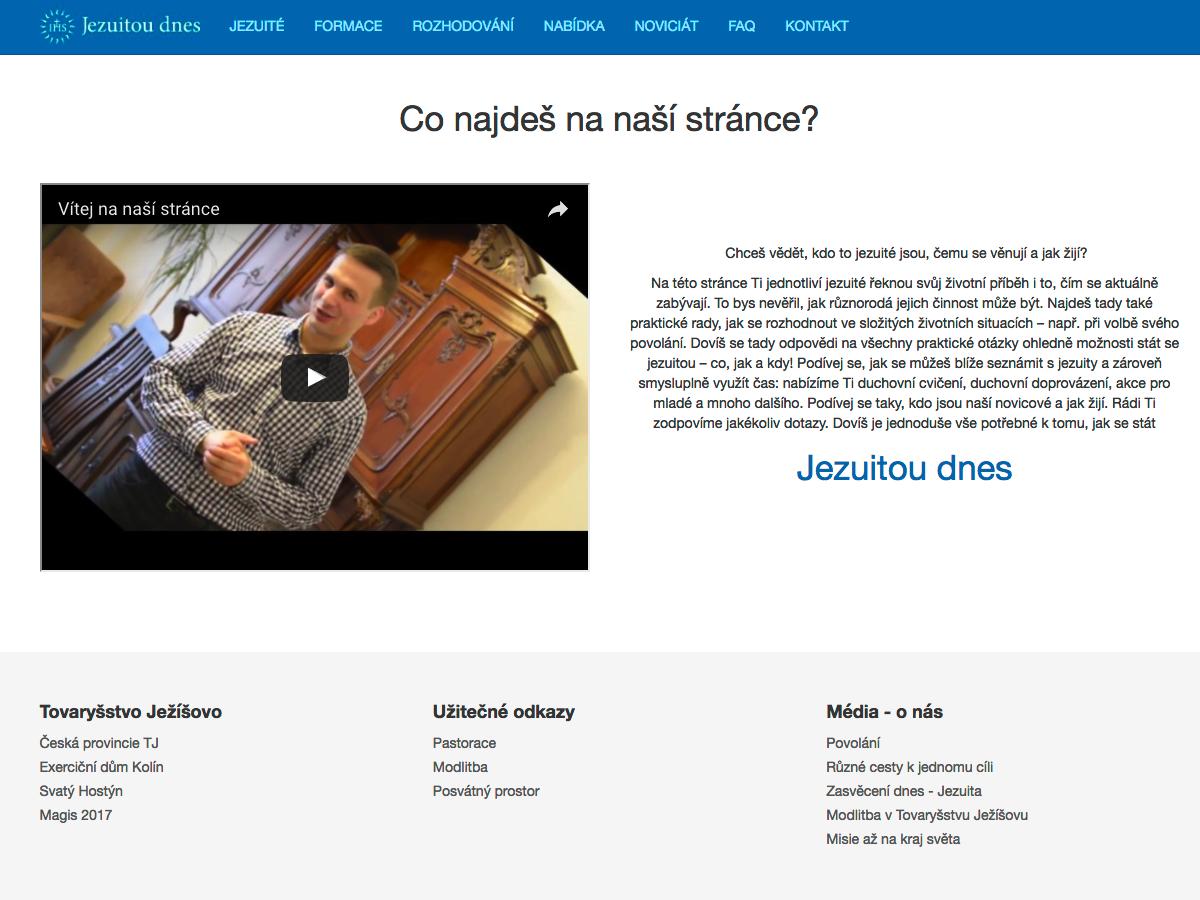 Jezuitoudnes.cz - informace pro budoucí kněze